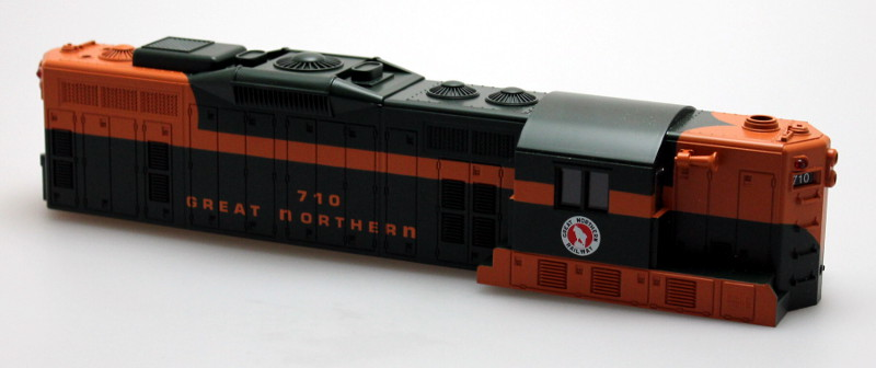 Body Shell-Great Northern #710 (O Scale GP9)
