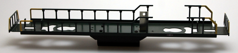 Underframe - Green Frame, Yellow/Green Rail (O Scale GP7/GP9)