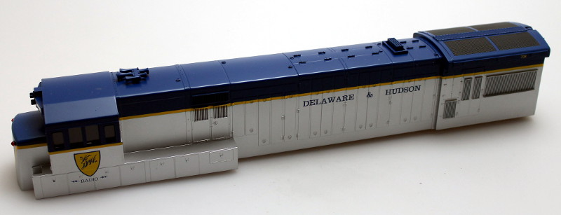 Body Shell - Delaware & Hudson #708 (O Scale U33C)