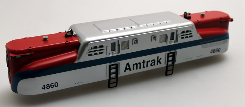 Loco Shell - Amtrak #4860 (O Scale Semi GG1)