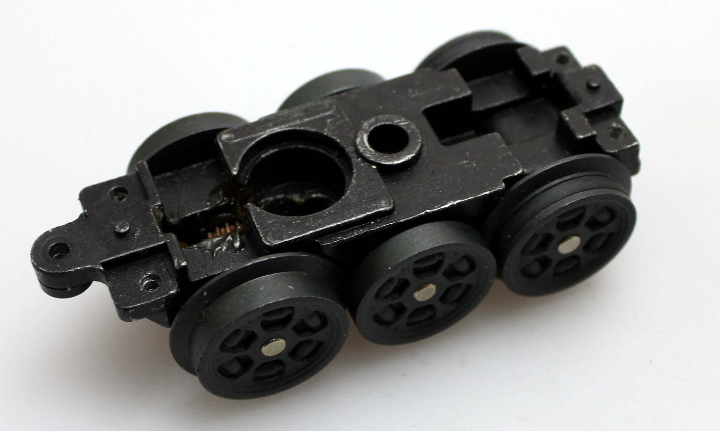 Powered Truck W/O Frame (O Scale Semi GG1) - Click Image to Close