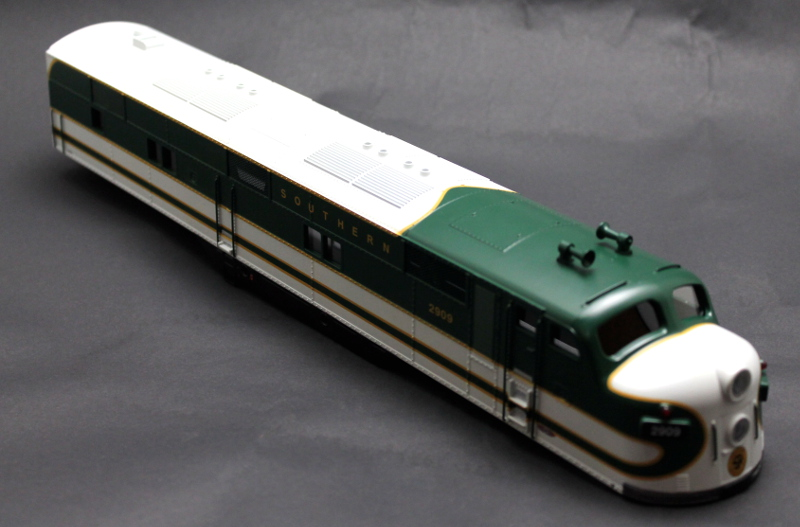 Body Shell - Southern #2909 (O Scale E7-A)