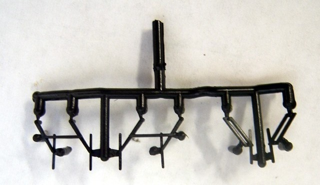 Windshield Wipers - Complete Sprue (O Scale SD-90)