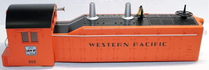 Loco Shell-Western Pacific #608 ( O scale NW2 )