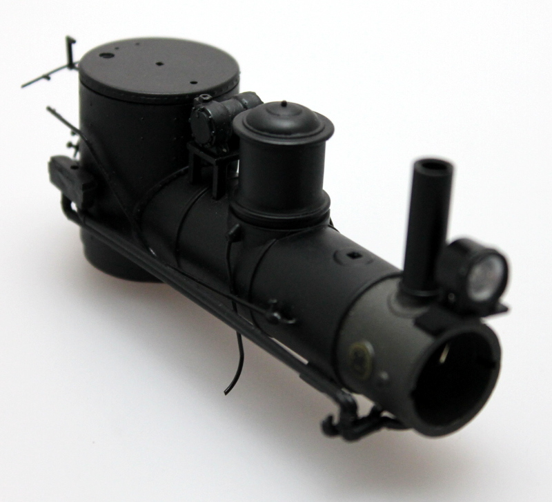 Boiler w/ Stack & Headlight (On30 Shay)