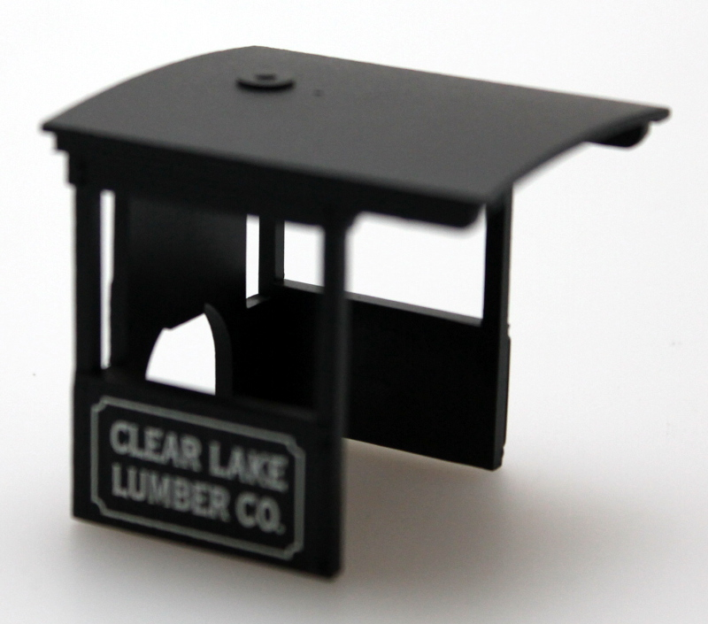 Cab-Clear Lake Lumper (On30 0-4-2 DCC Sound)
