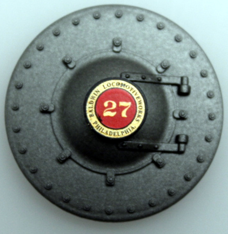 Boiler Door - #27 (On30 2-8-0) & Boiler Door - #27 (On30 2-8-0) [259XX-00B01-2B] - $8.30 : Bachmann ...