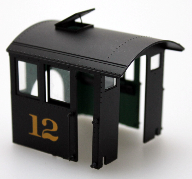 Wood Cab #12 (On30 Forney)