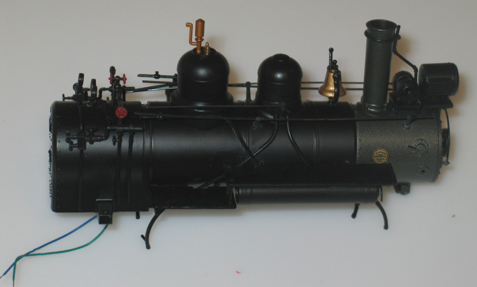 Boiler w/ Headlight B (On30 Forney 2-4-4)
