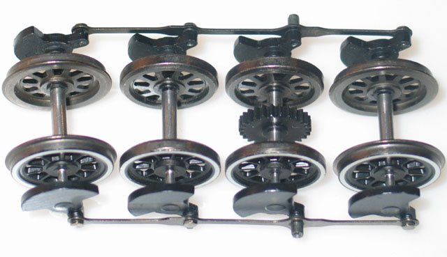 Drive Wheel Assy - 2-8-0 Consolidation (On30)