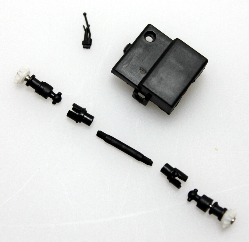 Transmission Line w/ Gearbox Cover (ON30 Railtruck)