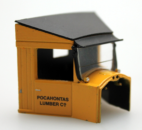Cab - Pocahontas Lumber Co. (On30 Railtruck)