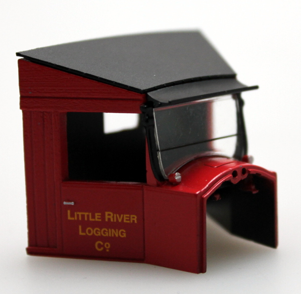 Cab - Little River Logging Co. (On30 Railtruck)