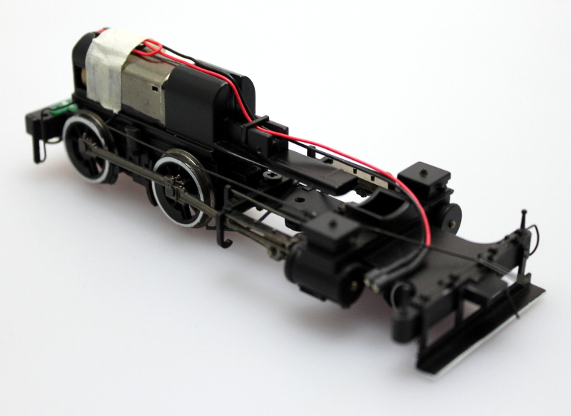 Loco Chassis w/ Cowcatcher (On30 4-4-0 Inside Frame)