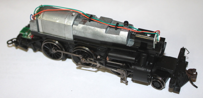Loco Chassis - Complete (2-6-0 Narrow Gauge)