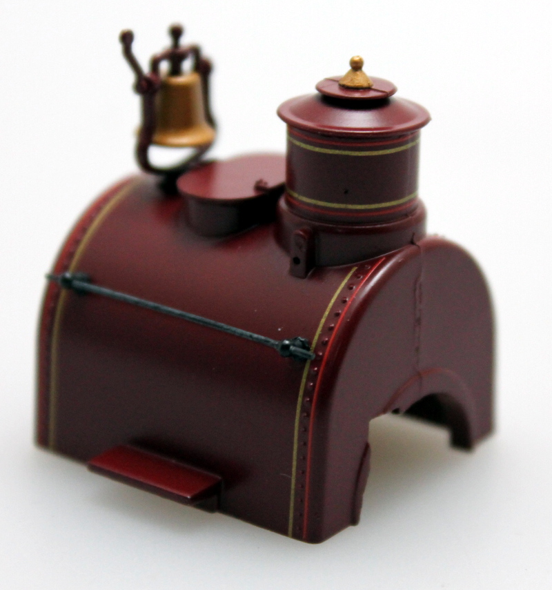 Boiler - Unlettered, Maroon (On30 0-4-2 DCC Sound)