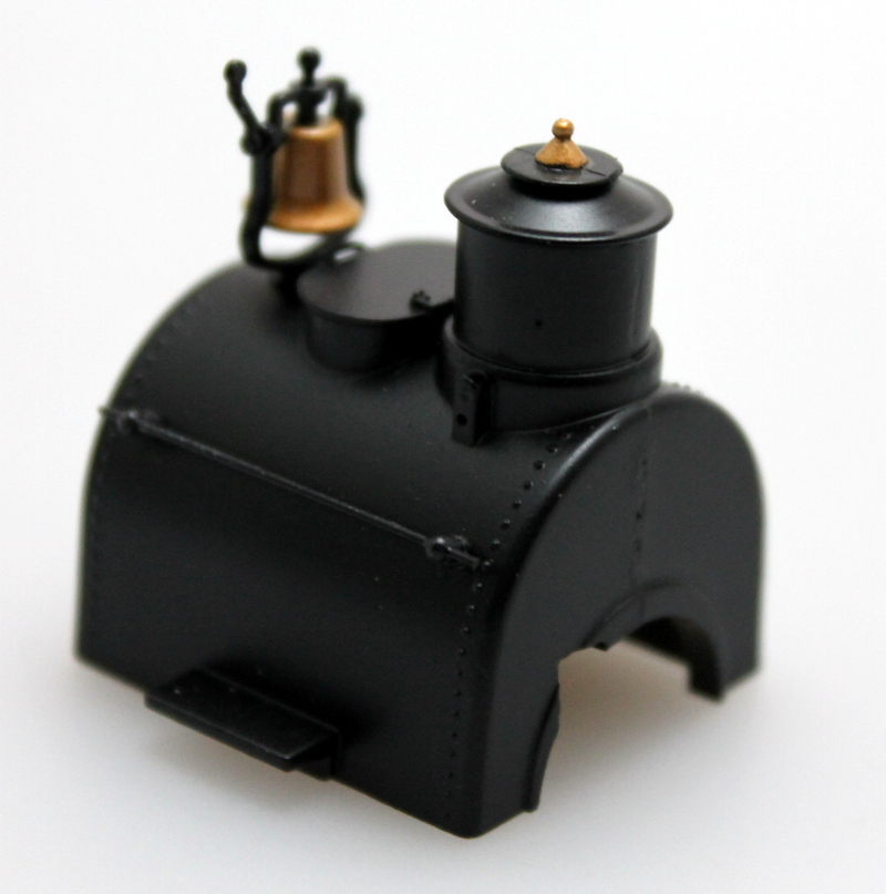 Boiler - Unlettered, Black (On30 0-4-2 DCC Sound)