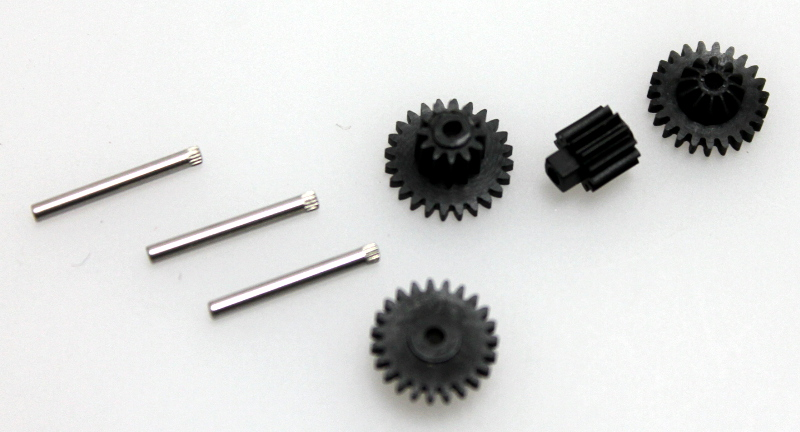 4pc. Gear Set w/ Pin (ON30 Railbus&Trailer)