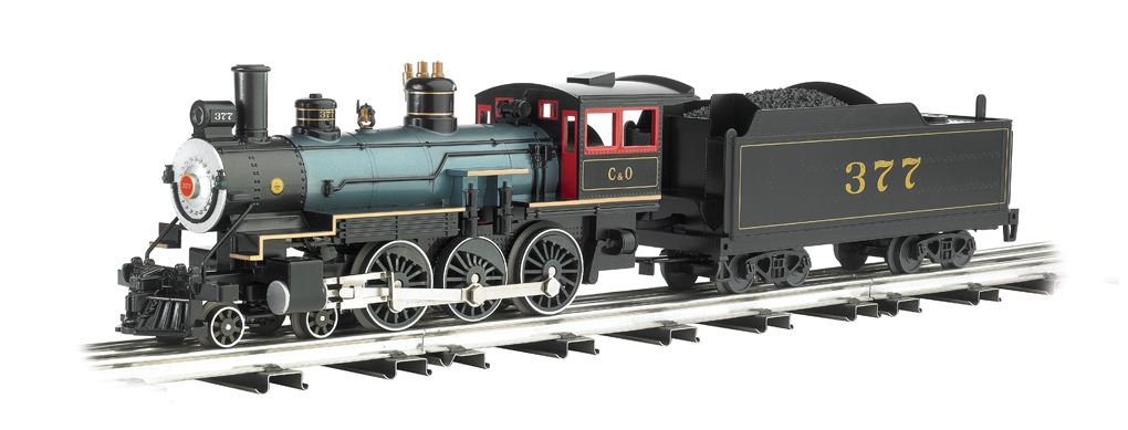 Baldwin 4-6-0 Scale Steamer