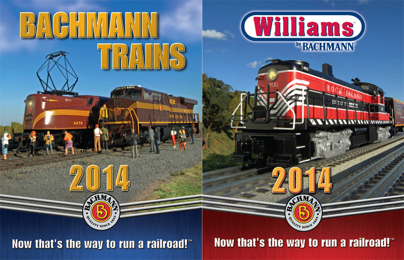 "2014 Bachmann & Williams Catalog (Digest Size; 6.5"" x 8.5"")"