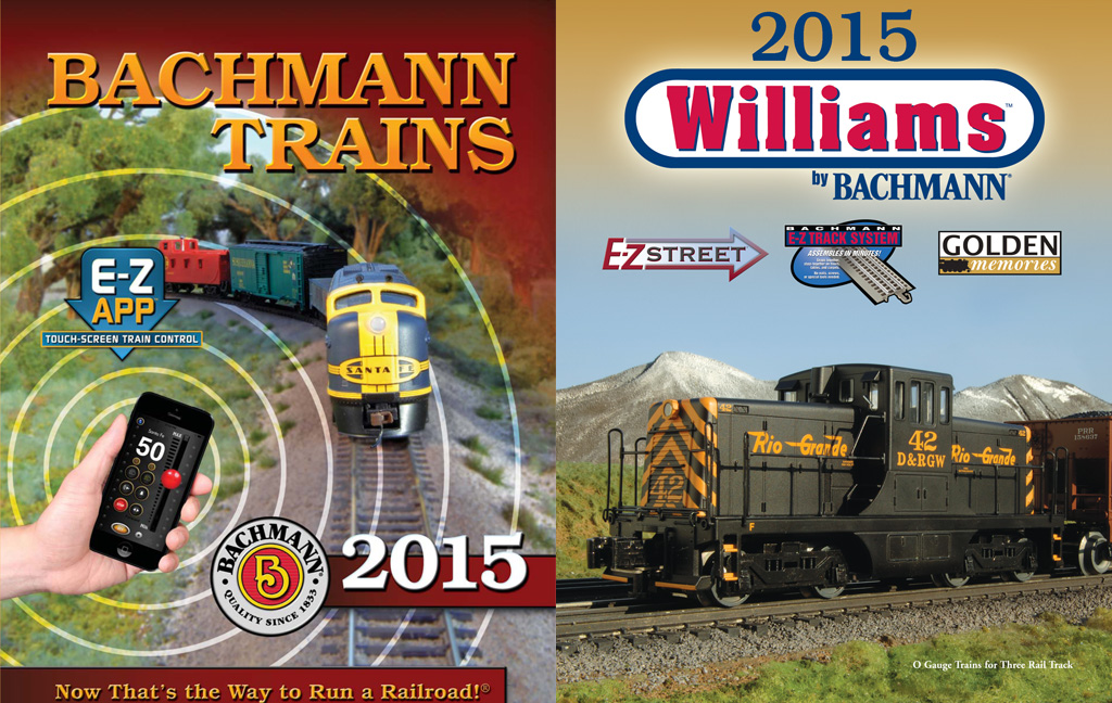 "2015 Bachmann & Williams Catalog (Digest Size; 6.5"" x 8.5"") - Click Image to Close"