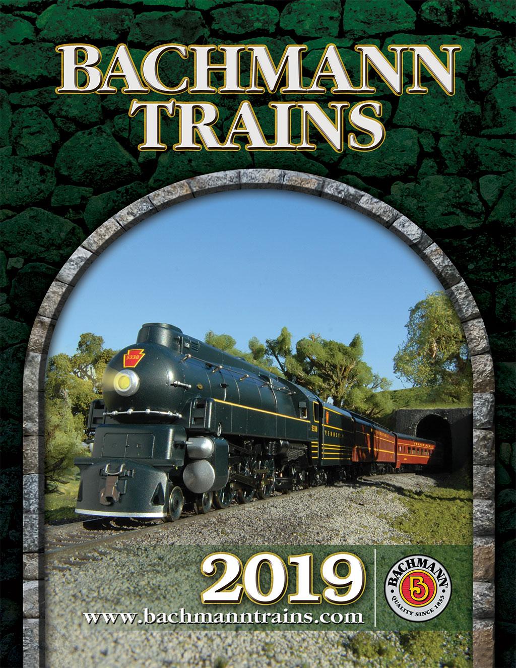 """Catalogue 2019 Bachmann & Williams (taille de Digest; 6.5 """"x 8.5"""")"""