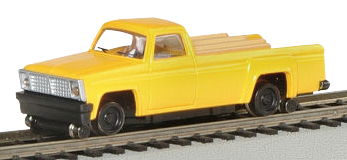 Pick-up Truck w/High Railers