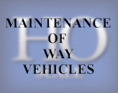 Maintenance of Way Vehicles