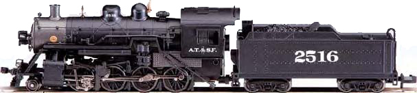 2-8-0 Locomotive