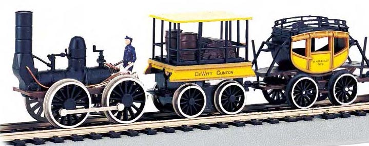 0-4-0 DeWitt Clinton-Discontined