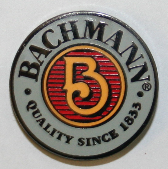 Bachmann® Hard Enamel Lapel Pin - Click Image to Close