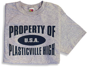 Plasticville T-Shirt - Click Image to Close
