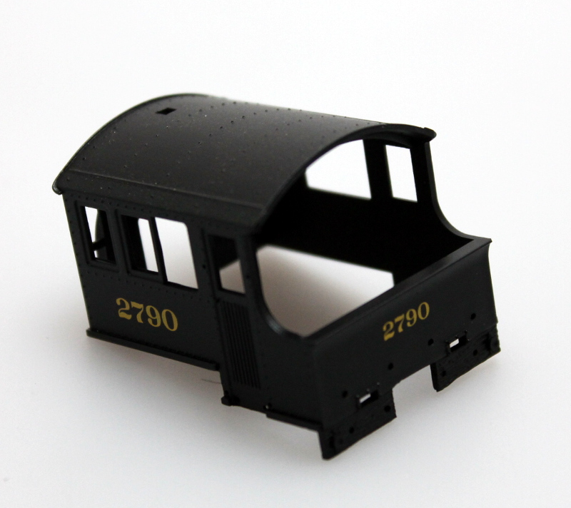 Cab Shell - PRR #2790 (HO 0-6-0 Saddle Tank)