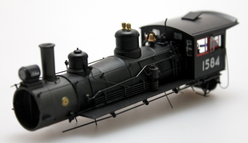 Loco Shell - Union Pacific #1584 (HO Scale 4-6-0)