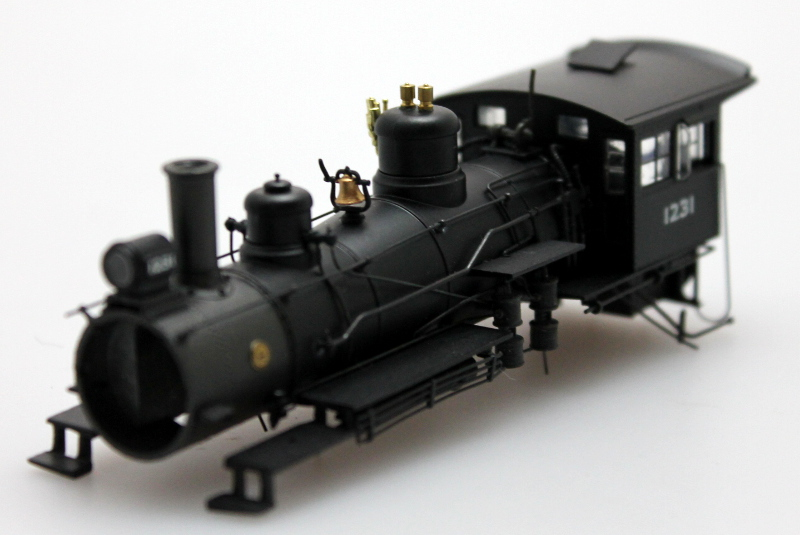 Loco Shell - New York Central #1231 (HO Scale 4-6-0)