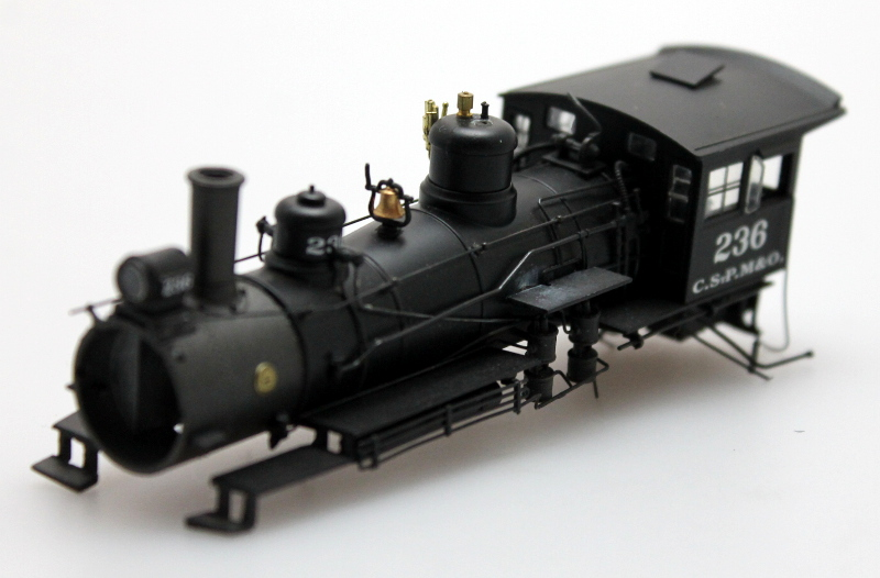 Loco Shell - Chicago Northwestern #236 (HO Scale 4-6-0)