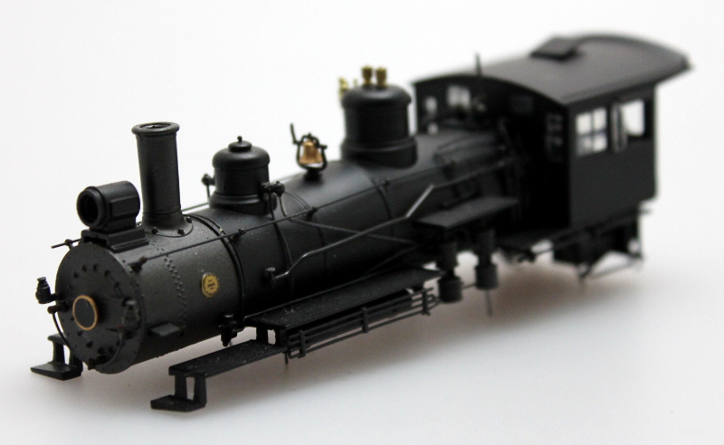 Loco Shell - Painted Unlettered (HO Scale 4-6-0)