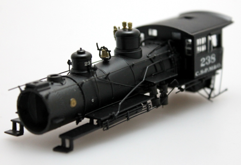 Loco Shell - Chicago Northwestern #238 (HO Scale 4-6-0)
