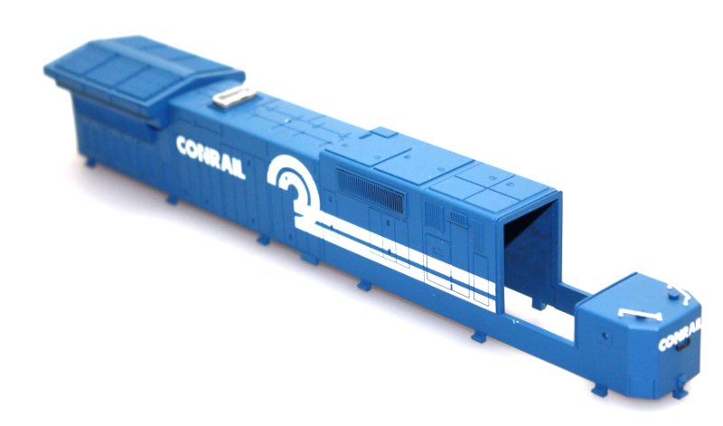 Shell, Incompleted - Conrail #6044 (HO Dash 8-40C)