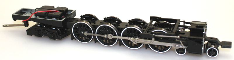Chassis w/Drive Wheel Assembly & Bogies (HO GS4 4-8-4)