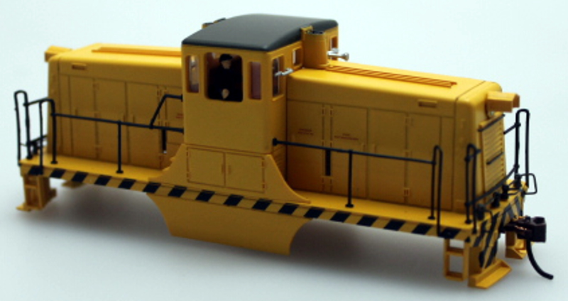Shell - Unlettered, Yellow/Black (HO 44Ton)