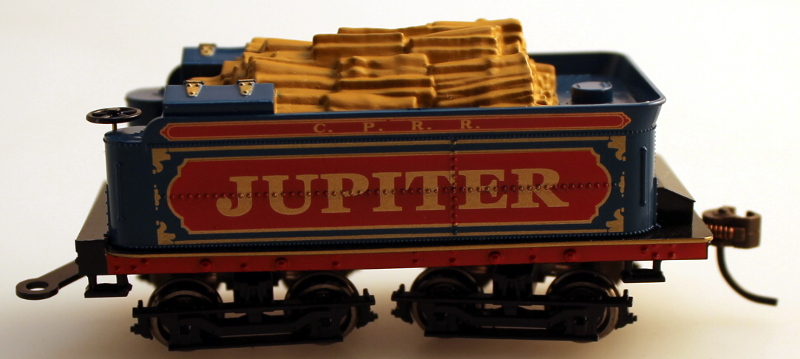 COMPLETE TENDER (HO SCALE 4-4-0 DCC-SV)