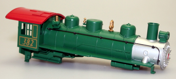 Loco Shell - Green/Red #382 (HO 060/260/262)