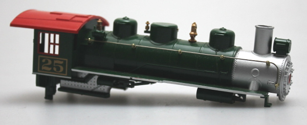 Loco Shell - Green/Red #25 (HO 060/260/262)