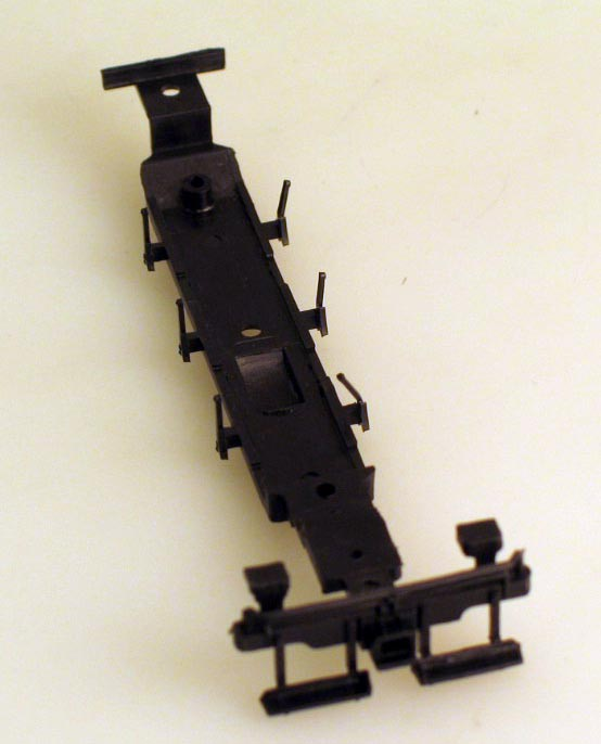Chassis Underframe - Black (HO 0-6-0/2-6-0/2-6-2)