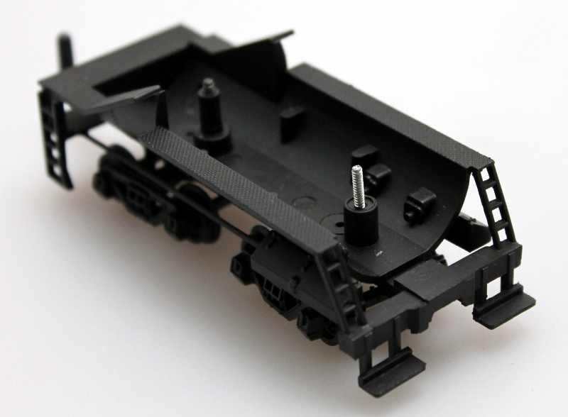 Tender Chassis w/wheels, Black (HO 0-6-0/2-6-0/2-6-2 Vandy)