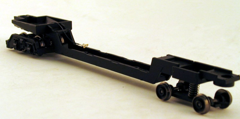 Underframe w/Wheels (Old) (HO GS4 4-8-4)