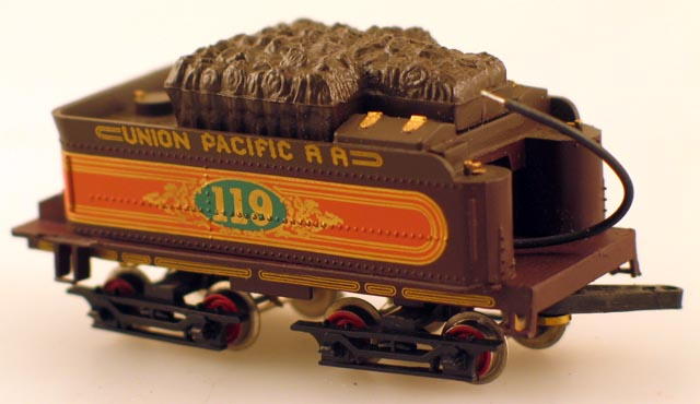 Complete Tender - Assorted Roadnames (HO 4-4-0 American)