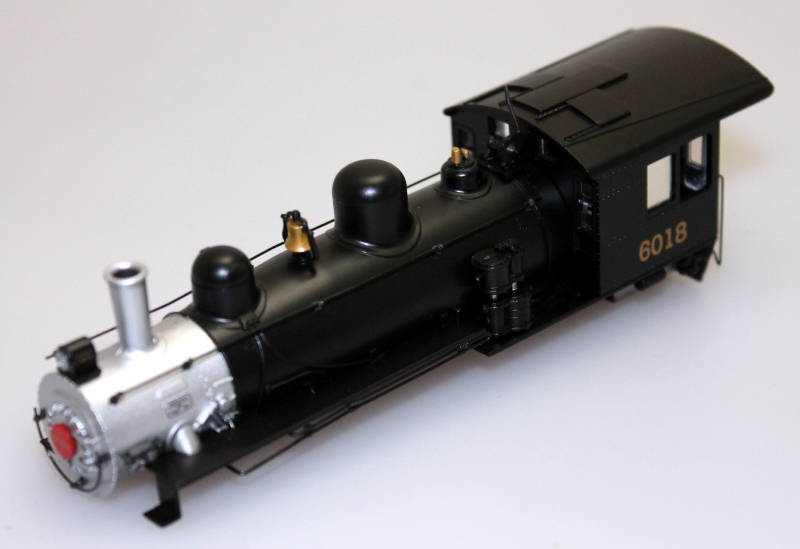 Loco Shell - Canadian National #6018 (HO Alco 2-6-0)
