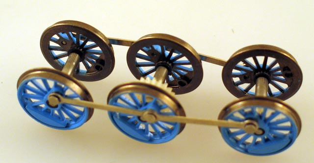 Drive Wheel Assembly w/Rods (HO Thomas)